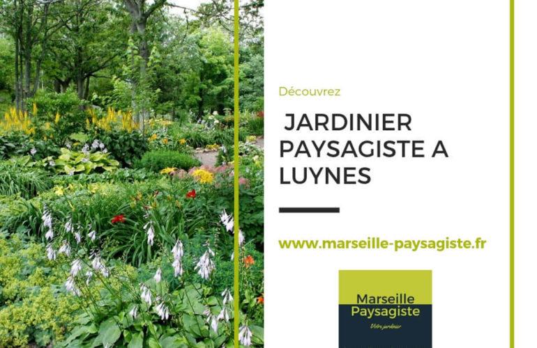 JARDINIER PAYSAGISTE À LUYNES 13080 PRÈS DE MARSEILLE