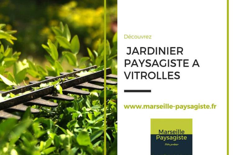 JARDINIER PAYSAGISTE À VITROLLES PRÈS DE MARSEILLE.